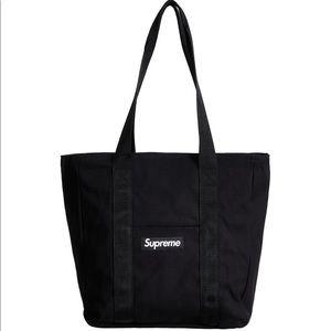 Supreme Canvas Tote Black